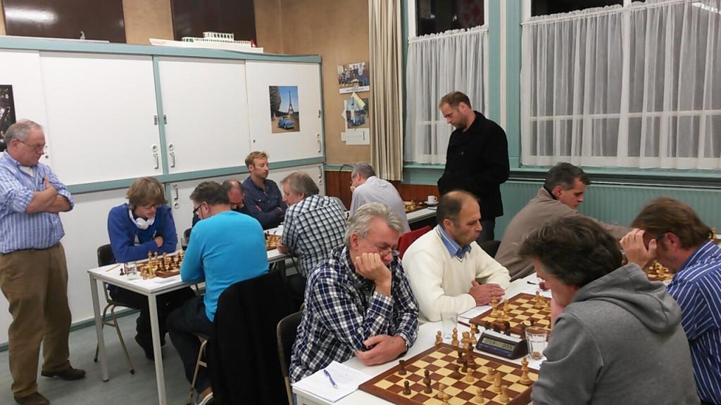 Leusden 1 te sterk voor schakers Baarn 2