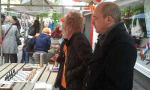 Martijn Kruiswijk was ook weer van de partij.