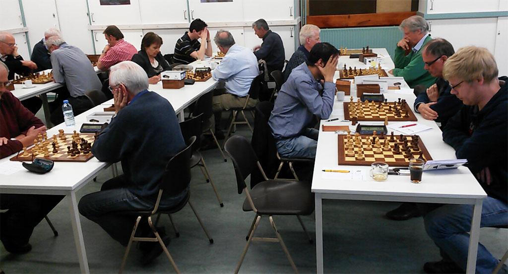 Zwart schaken loont niet