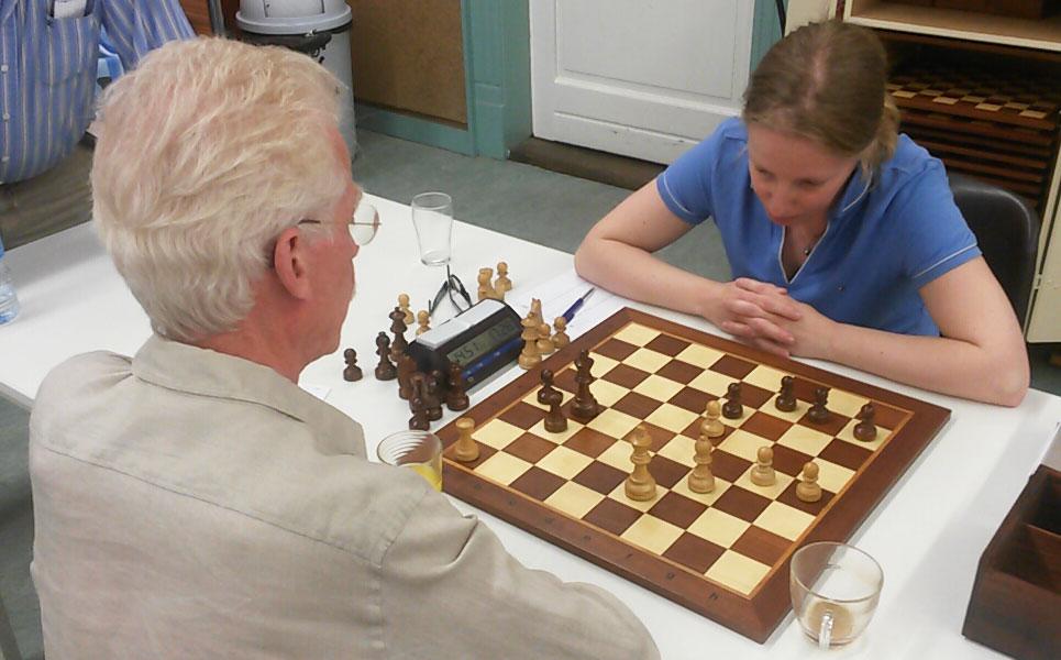 Zomerse schaakavond