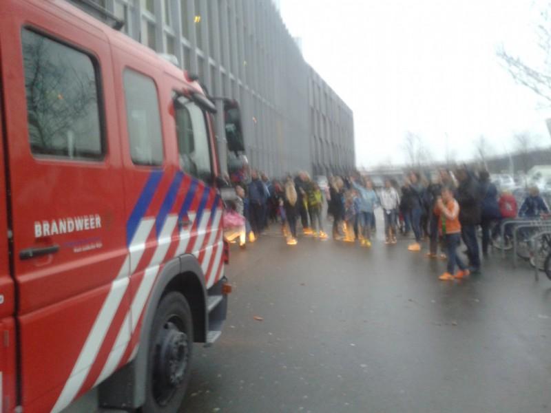 De brandweer kwam langs en ook de politie, dat was voor sommigen wel even schrikken