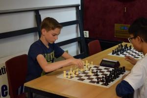 Rogier Burger speelde een solide toernooi.