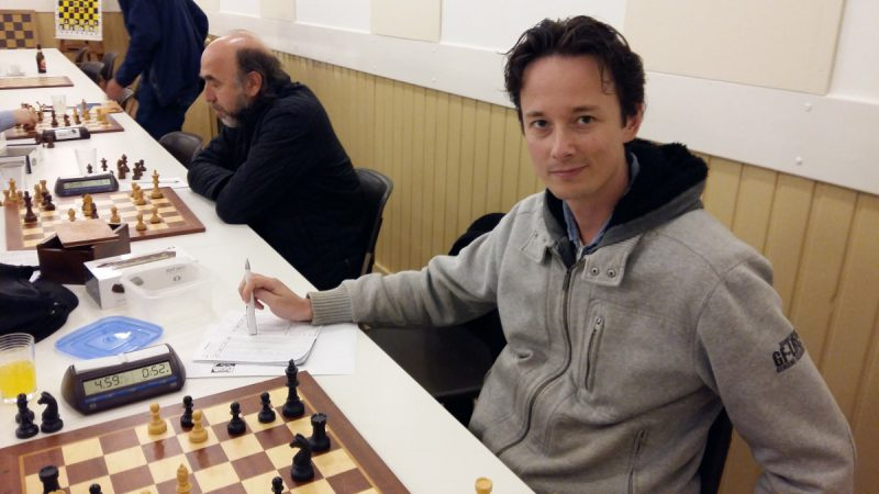 De nummer 2 van de interne competitie: David Knight