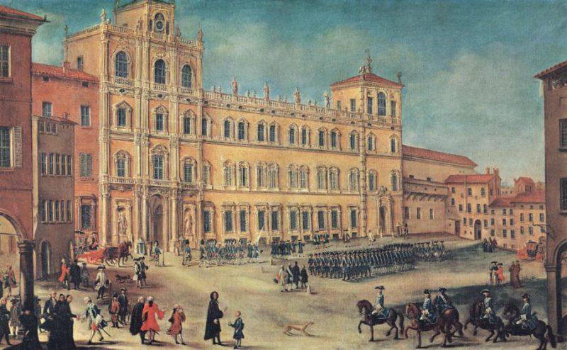 Hertogelijk Paleis in Modena