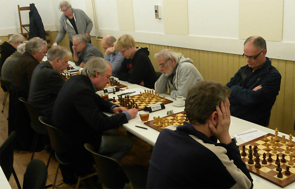 Baarn 2 houdt opties open: 4-4 tegen Paul Keres 6