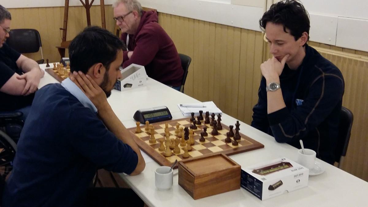 Nieuwkomers zetten schaaktop op scherp