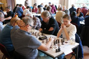 Jelmer van Aken (rechts) won groep zes