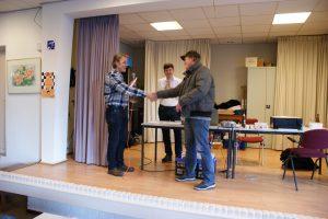 Izaäk Schipper won groep negen