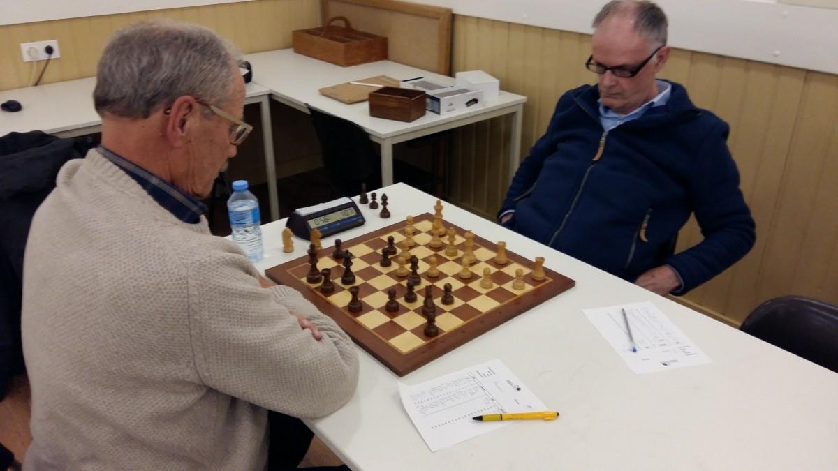 Rode oortjes van het schaken