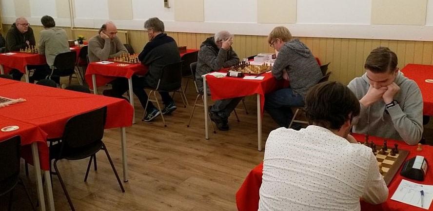 Veel Siciliaans in 20e schaakronde