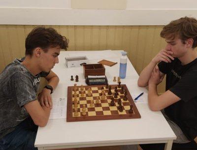 Een klassieke schaakavond